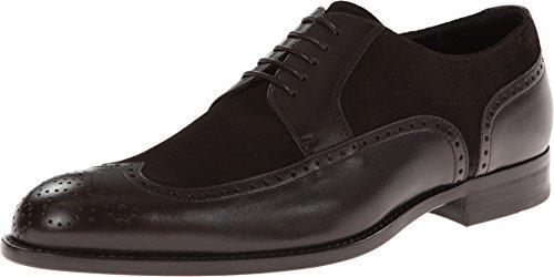 Hugo Boss Mens Branno Lederen Mode Oxford Schoenen Donkerbruin (7)