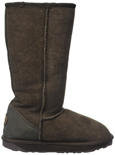 Emu Mid Women's Snow Boot Sheepskin Stinger Hi Chocolate Calf RBwR4r