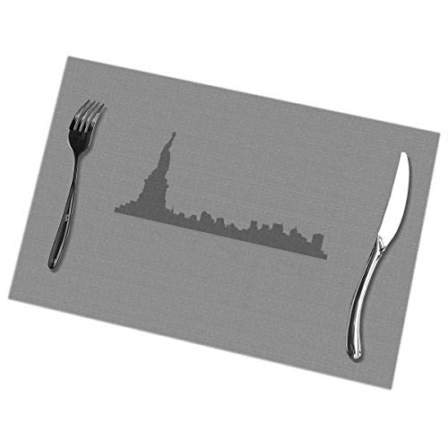 Placemats for Dining Table Set of 6 New