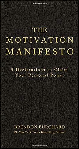 The motivation manifesto brendon burchard 9781401948078 amazon the motivation manifesto brendon burchard 9781401948078 amazon books maxwellsz