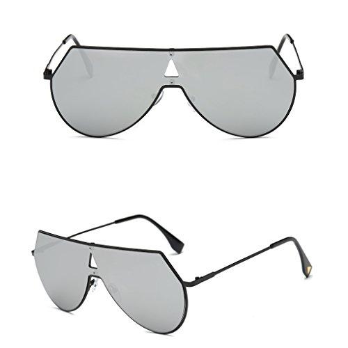 Sbl y UV400 unisex estilo para retro JAGENIE sol Bkw mujer Cool de hombre vintage Gafas estilo wxgqY6