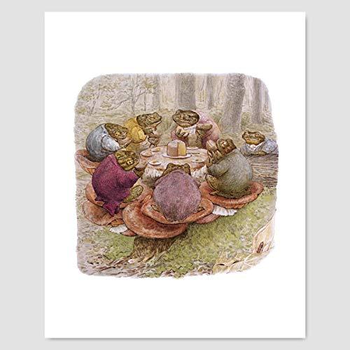 Beatrix Potter Print (Peter Rabbit Nursery Art, Baby Wall Decor)