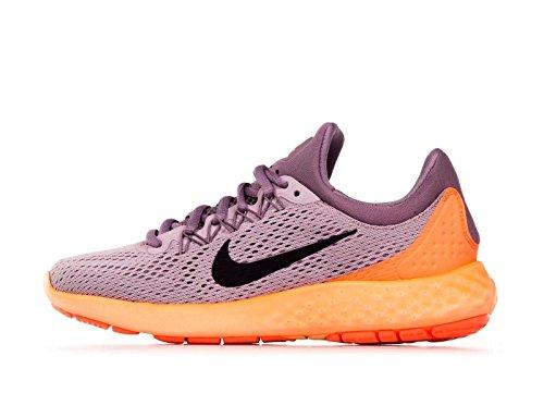 Nike Womens Lunel Skyelux Scarpa Da Corsa Prugna Nebbia / Nero-viola Ombra-mango Brillante