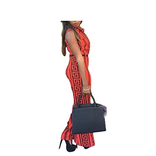 Rainlife jumpsuits Wide Leg Jumpsuit Overalls New Long Trousers Outfits Fashion Women Black Print by Rainlife jumpsuits