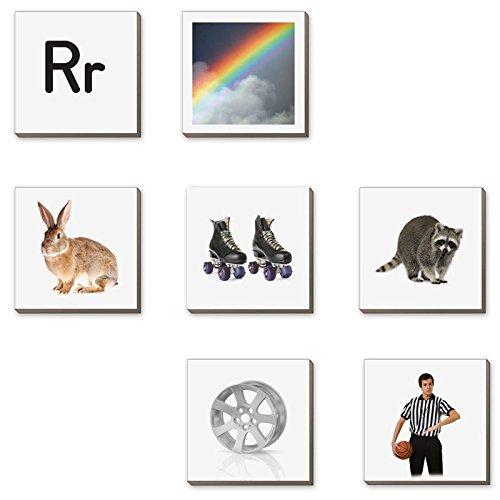 EZread Magnetic Photo Tiles: Beginning Sounds