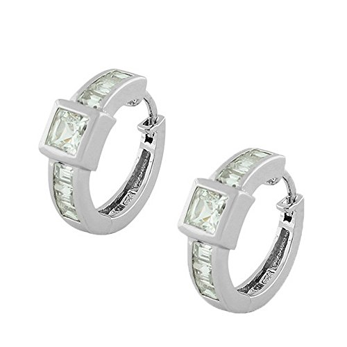 925 Sterling Silver White Prin