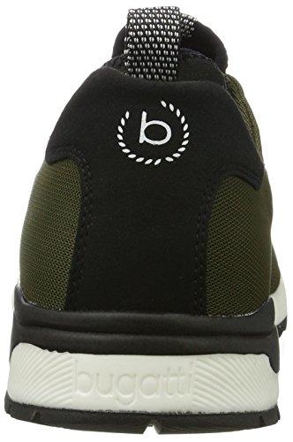 Bugatti 322287606900, Zapatillas para Hombre Verde (Dark Green)