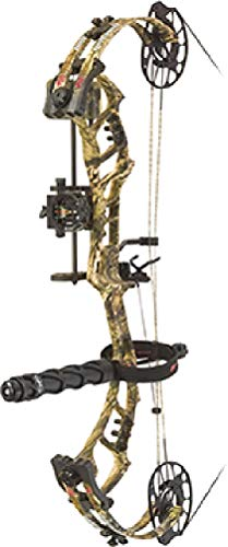 PSE Bow Madness Unleashed Compound Bow RTSPro Right Hand, Mossy Oak Camo, 70# (Best Compound Bows Of 2019)