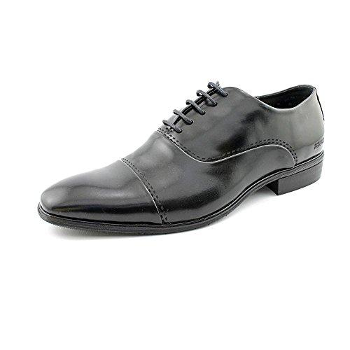 Kenneth Cole Réaction Mens Oxford Robe Chaussures Taille 8 M Face À Louest Noir