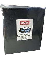 Vue-All Professional Archival Binder for Slide Photographs and Negatives