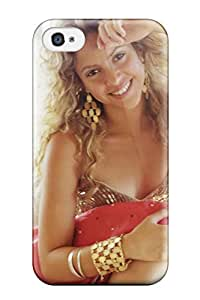 Unique Design Iphone 4/4s Durable Tpu Case Cover Shakira