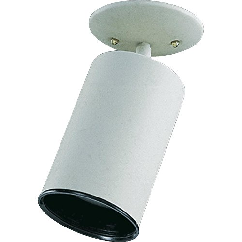 Contemporary Ceiling Spotlight - Spot Light Bulb Type: (1) 75W medium base bulb, Finish: White