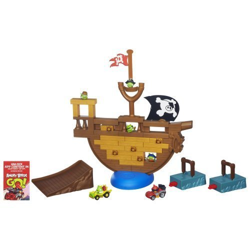Angry Birds Go! Jenga Pirate Pig Attack Game [Toys & Games] Holiday Toy (Angry Birds Go Jenga Pirate Pig Attack Game)
