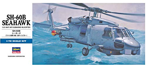 Hasegawa SH-60B Seahawk, 1/72 Scale D Series US Navy Anti Submarine Helicopter Model Kit/Item # 00431