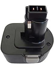 vhbw Accu vervanging voor Black & Decker A9252, A9266, A9275, CD, FS, FSL, HP, MT, PS serie voor elektrisch gereedschap (2000mAh NiMH 12 V)