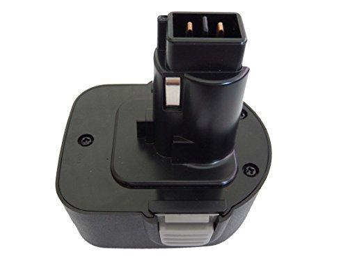 vhbw NiMH Akku 2000mAh für Elektrowerkzeuge Black & Decker CD120GK, CD120GK2, CD12C, CD12CA, CD12CAB, CD12CAH wie PS130, A9252, DC9071, u.a..