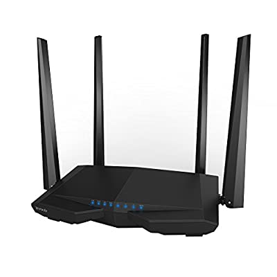 Tenda N300 Wireless Wi-Fi Router with High Power 5dBi Antennas (F3) by Tenda