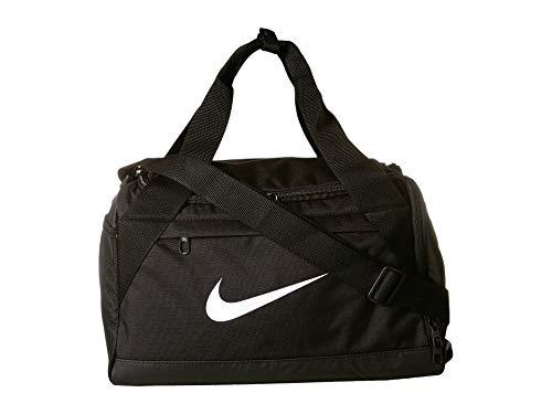 - Nike Brasilia Training Duffel Bag (Extra-Small) (Black/White)