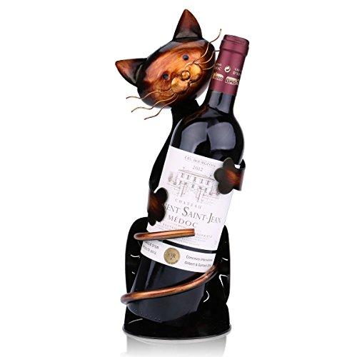 Tooarts-Wine-Holder-Wine-Rack-Wine-shelf-Metal-Sculpture-Crafts-Home-decorations-Interior-Decorations-Cat