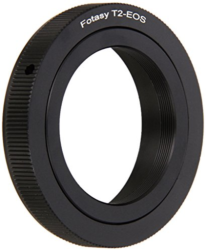 - Fotasy Adjustable T2/ T mount Lens to Canon Adapter, T Mount to Canon Adapter, Infinity Focus, fits Canon DSLR 6D, 5D Mark IV III II 1Ds 1D Series 7D II 7D 80D 70D 60D 50D 1300D 1200D 1100D 1000D 760D