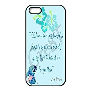Lilo & Stitch Custom Case Cover Protective Skin For Apple Iphone 5 5S Cases STI-TCH-L3255