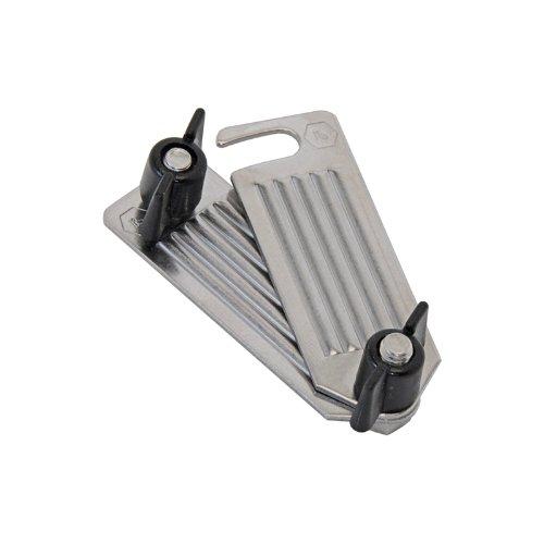Plaque de Jonction Ruban de Clôture Électrique 40mm Connecteur Acier Inox