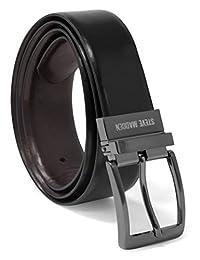 Steve Madden - Cinturón de piel reversible para hombre 2afd4b03c4b9