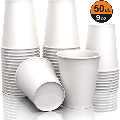 (9 oz Paper Cups - Disposable Paper)