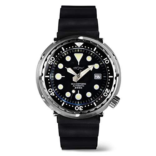 Japón NH35 Tuna Can Diver reloj de pulsera automático MarineMaster Man SBBN015 Sharkey