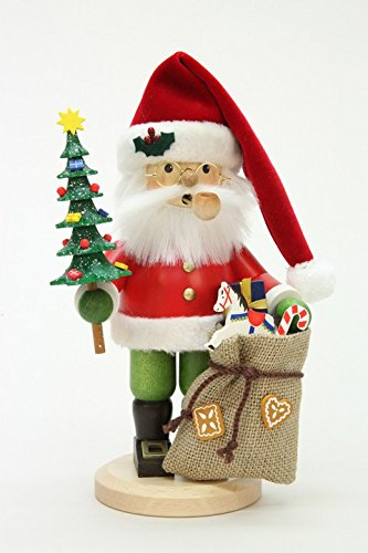 Christian Ulbricht Smoker - Santa Claus with Tree by Christian Ulbricht