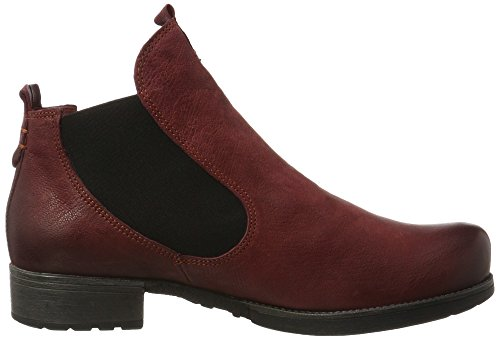 ¡Pensar mujer Vino 181011 Denk Red 36 36 Chelsea Boots Vino para 4YYFnqrW