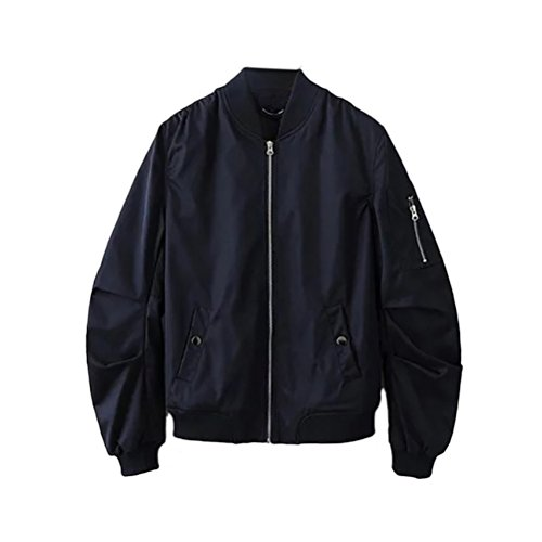 Jackets Fit Classico 4 Work Non Mens Bomber Loose Colors padded Zhhlaixing Blue Coats CatOSqnww