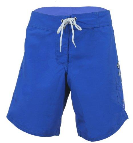 Point Conception Junior's Solid (NOC) Long Boardshort 5 Ocean