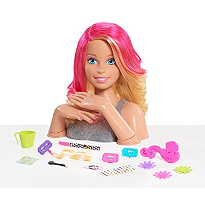 Barbie Deluxe Styling Head (Blonde) - All Customer, Model:JPL62530: Toys & Games