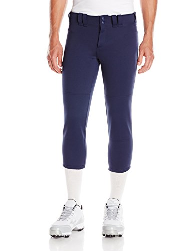 Mizuno Select Belted Low Rise Fastpitch Pant (Medium, Navy)