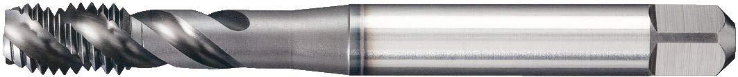 TiN Coating 4 Flutes Plug Chamfer M8 X 1.25 Forming HSS Right Hand Cut WIDIA GTD19945 TRU-LEDE 2510 Tap