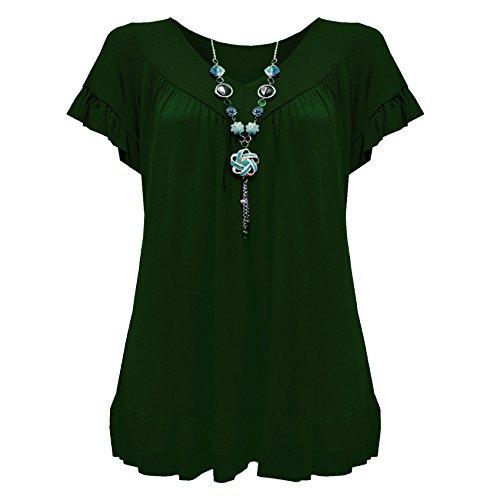 Dark Green Camicia Diva Emerald Urban donna ITZgxZF