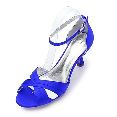 Party Champagne EU36 amp;Amp; Flat Satin Dress Rhinestone US6 Wedding CN36 Summer Women'S UK4 Evening Spring Blue Wedding Comfort Heelivory Shoes Ruby RTRY Bowknot Rc8w4qaP