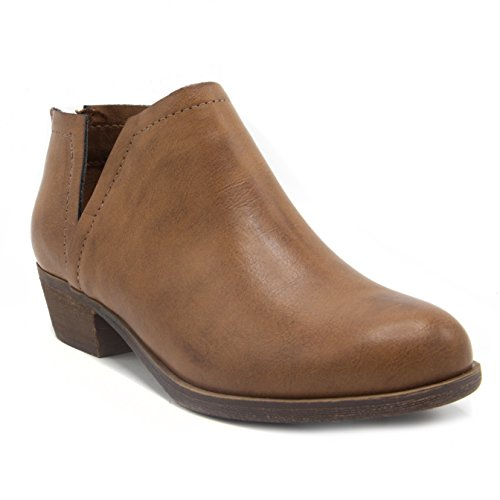 - Sugar Women's Tessa Ankle Bootie 7.5 Cognac
