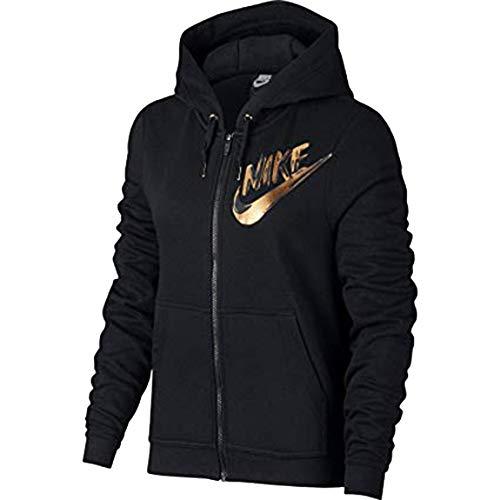 Nike Women's Sportswear Metallic Full-Zip Hoodie