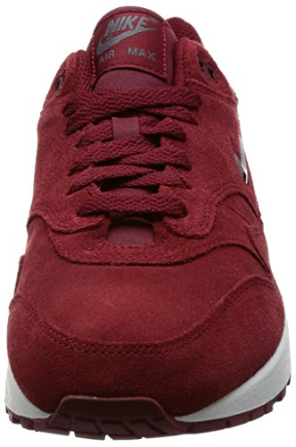 "Nike Air Max 1 AM1 Premium SC Special Category ""Team Red"" Velvet Jewell Retro, Scarpe da Corsa Uomo Team Red/Metallic Dark Grey"