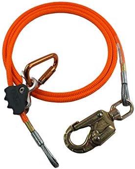 ProClimb 1/ 2ArboristフリップラインLanyard Fall保護BetterグラブロープグラブSwivelキット。。。