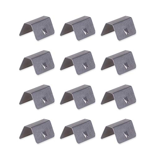 SMOXX in Channel Wind/Rain Eyebrow Fitting Clips Replacements for Heko G3 Clip X12