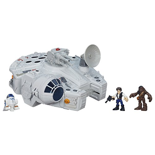 Playskool Heroes Star Wars Galactic Heroes Millennium Falcon and Figures (Amazon Exclusive)]()