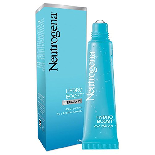 Neutrogena Hydro Boost Eye Roll-on 15g (0.5 Oz) provides deep hydration for brighter eye area