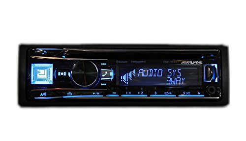 Alpine CDE-164BT – Alpine In-Dash 1-DIN CD/MP3 Receiver with Bluetooth and iPhone/iPod Support