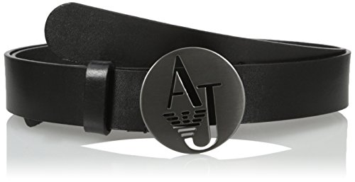 armani-jeans-womens-belt-with-rounded-logo-buckle-black-small-ii