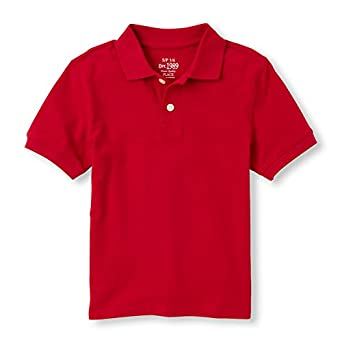 The Childrens Place Boys Short Sleeve Uniform Polo