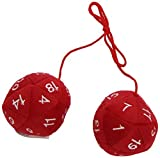 Toy Vault TYV06310 20 Seitiger Plush Dangler Board Game by Toy Vault