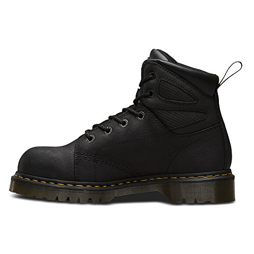 Dr Martens Mens Fairleigh ST6 eye Lace up Slip Resistant Safety Boots Negro